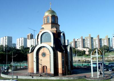 Собор великомученика георгия в киеве